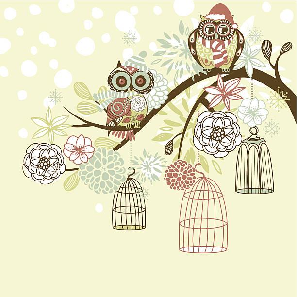 illustrations, cliparts, dessins animés et icônes de de leurs cages concept illustration - cage animal nuit