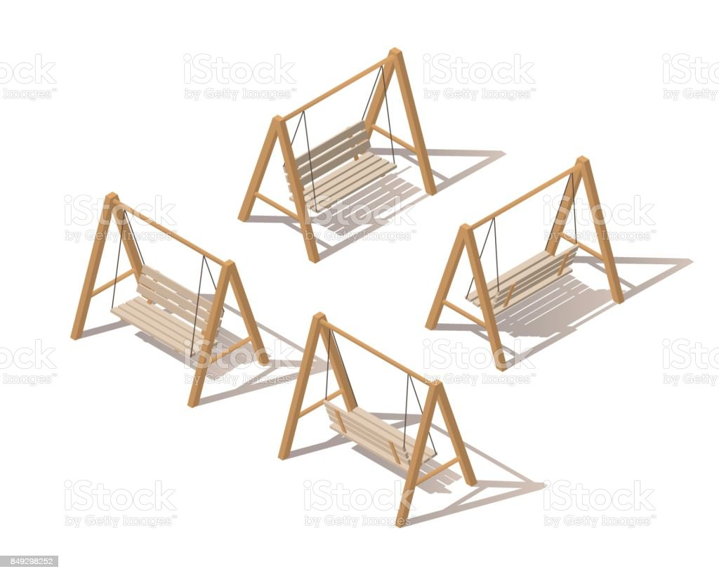 suspendus en bois jardin plein air sur cadre porche swing. Black Bedroom Furniture Sets. Home Design Ideas