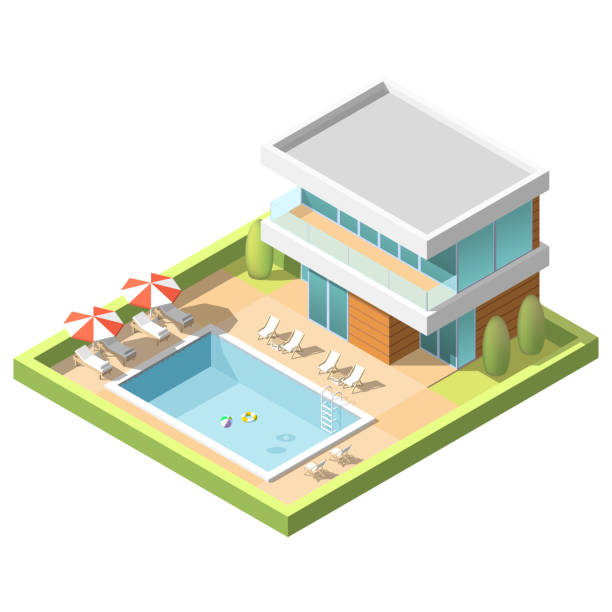 Best public swimming pool illustrations royalty free - Free public swimming pools near me ...