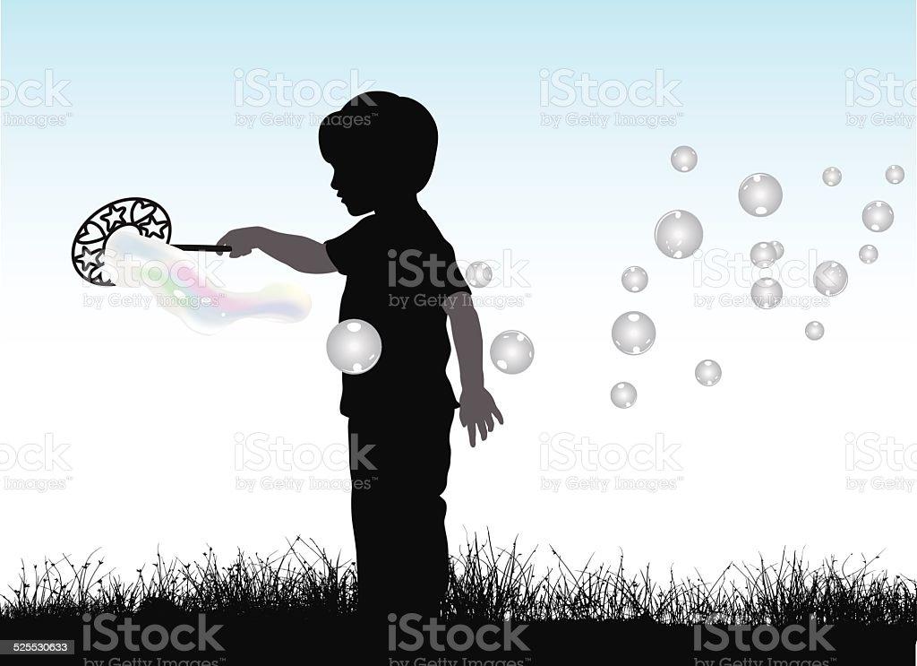 OutdoorPlay vector art illustration