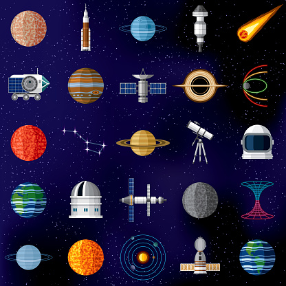 Outer Space Icon Set