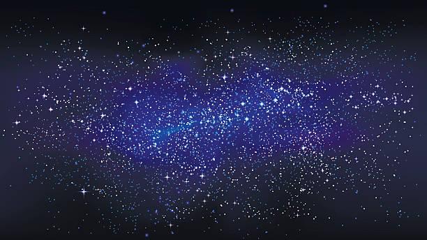 outer space starry design - weltall stock-grafiken, -clipart, -cartoons und -symbole