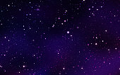 Outer space stars nebula constellation abstract vapor background.