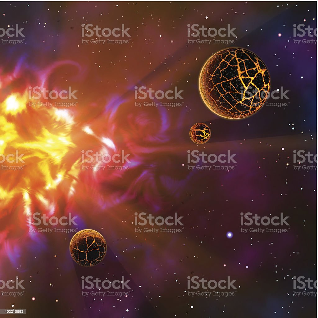 Outer Space royalty-free outer space stock vector art & more images of activity