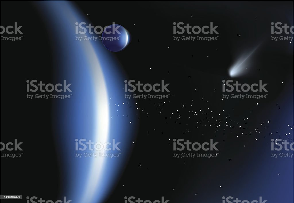 Outer Space royalty-free outer space stock vector art & more images of blue