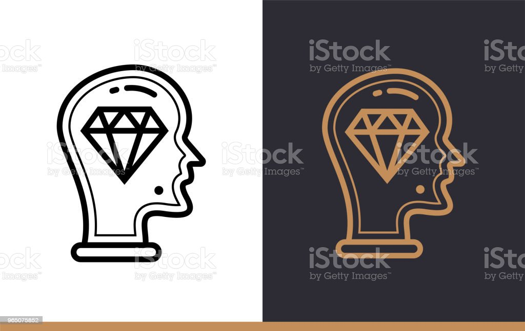 Outline brilliant idea icon for startup business. Line icons suitable for info graphics, print media and interfaces royalty-free outline brilliant idea icon for startup business line icons suitable for info graphics print media and interfaces stock vector art & more images of business