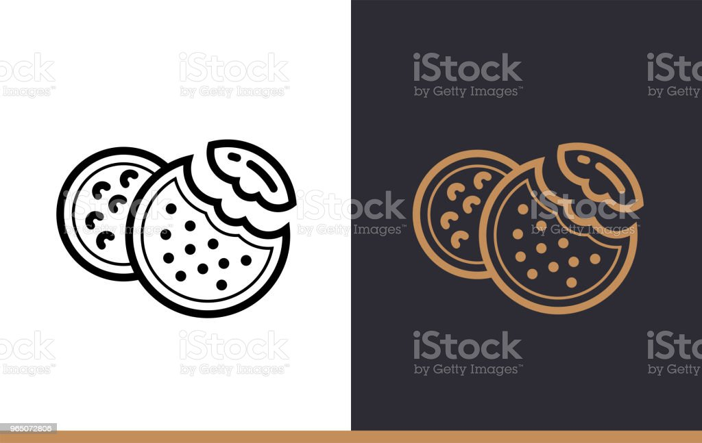 Outline COOKIES icon, bakery. Vector line icons suitable for info graphics, print media and interfaces royalty-free outline cookies icon bakery vector line icons suitable for info graphics print media and interfaces stock vector art & more images of bakery