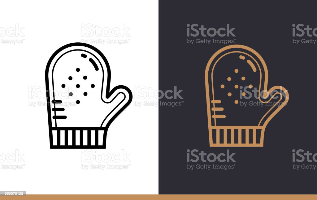 Outline COOKING GLOVE icon, bakery. Vector line icons suitable for info graphics, print media and interfaces outline cooking glove icon bakery vector line icons suitable for info graphics print media and interfaces - stockowe grafiki wektorowe i więcej obrazów bez ludzi royalty-free