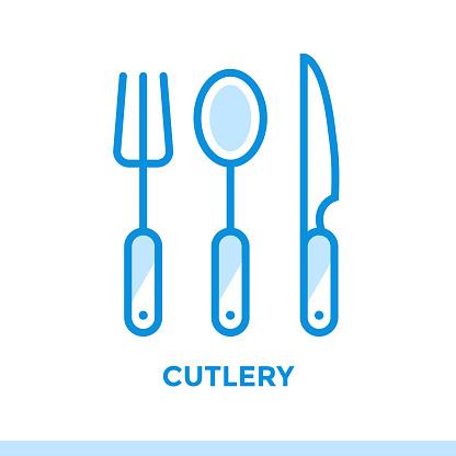 개요 아이콘 칼 붙이의 베이커리 요리 벡터 라인 아이콘 정보 그래픽 인쇄 매체 및 인터페이스에 적합 0명에 대한 스톡 벡터 아트 및 기타 이미지