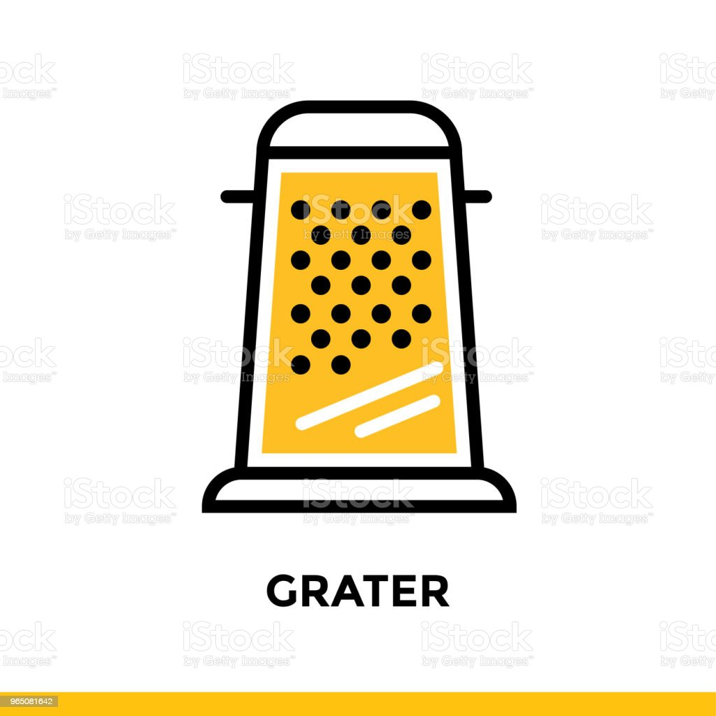 Outline icon GRATER of bakery, cooking. Vector line icons suitable for info graphics, print media and interfaces royalty-free outline icon grater of bakery cooking vector line icons suitable for info graphics print media and interfaces stock vector art & more images of bakery