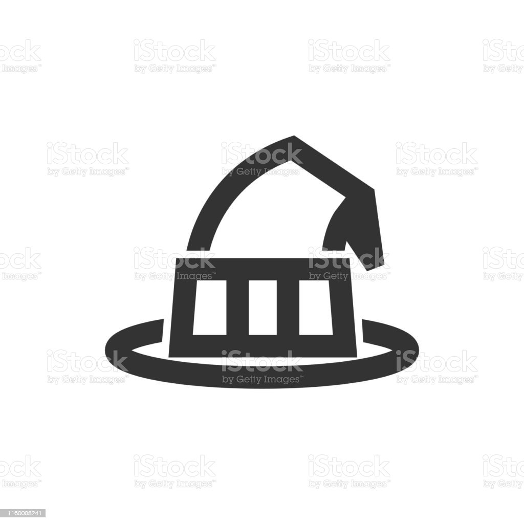 Outline Icon Witch Hat Stock Illustration Download Image Now Istock