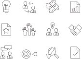 Outline Icons - Management