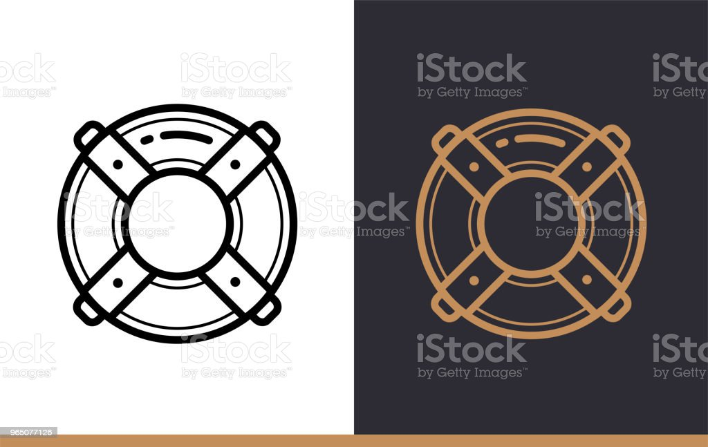 Outline lifebuoy icon for startup business. Vector line icons suitable for info graphics, print media and interfaces outline lifebuoy icon for startup business vector line icons suitable for info graphics print media and interfaces - stockowe grafiki wektorowe i więcej obrazów bez ludzi royalty-free