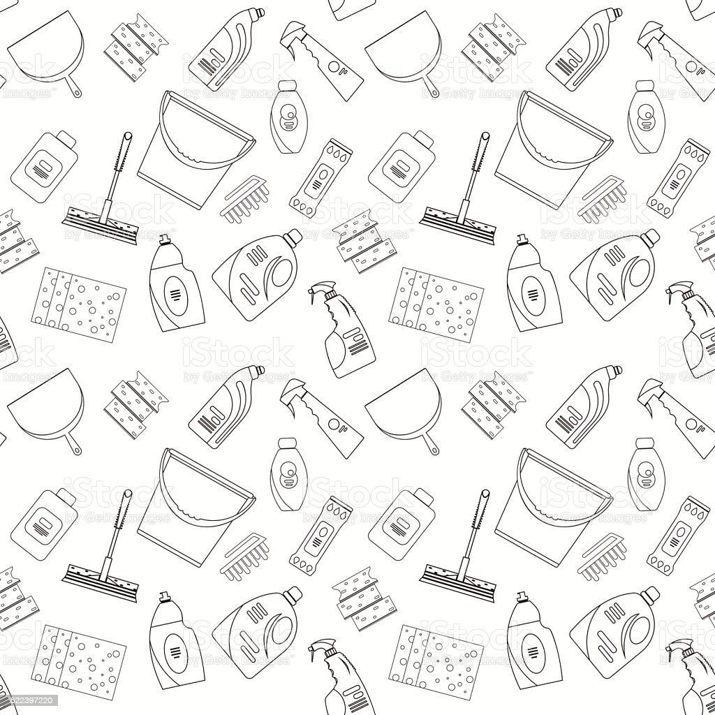 Ilustración de Descripción De Los Productos De Limpieza Y Sin ...