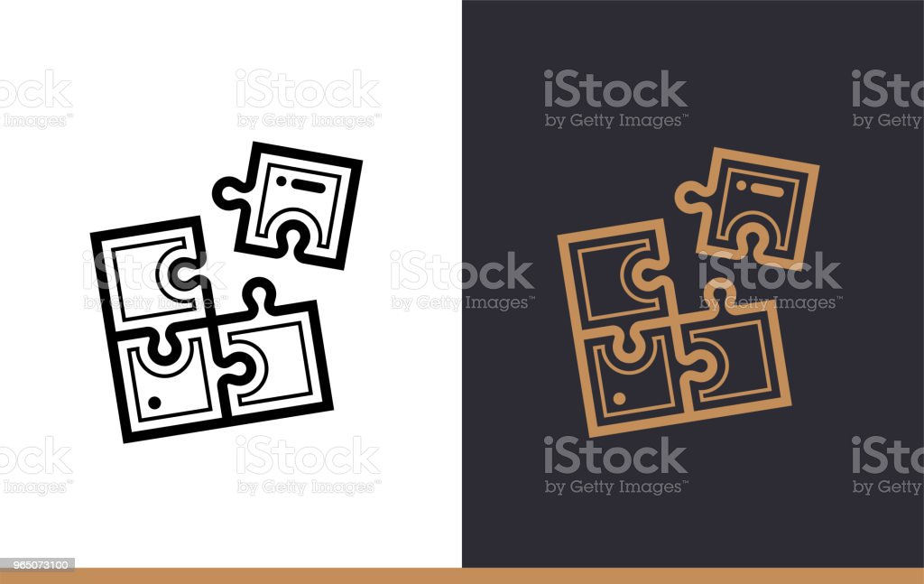 Outline Solution Icon For Startup Business Vector Line Icons Suitable For Info Graphics Print Media And Interfaces - Stockowe grafiki wektorowe i więcej obrazów Bez ludzi