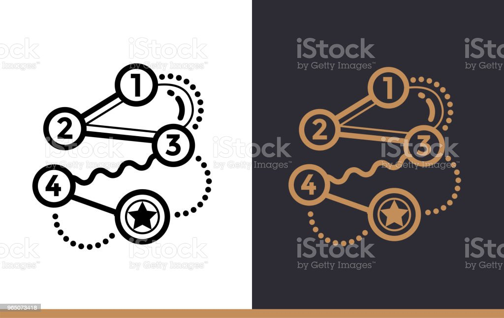 Outline strategy icon for startup business. Line icons suitable for info graphics, print media and interfaces royalty-free outline strategy icon for startup business line icons suitable for info graphics print media and interfaces stock vector art & more images of business