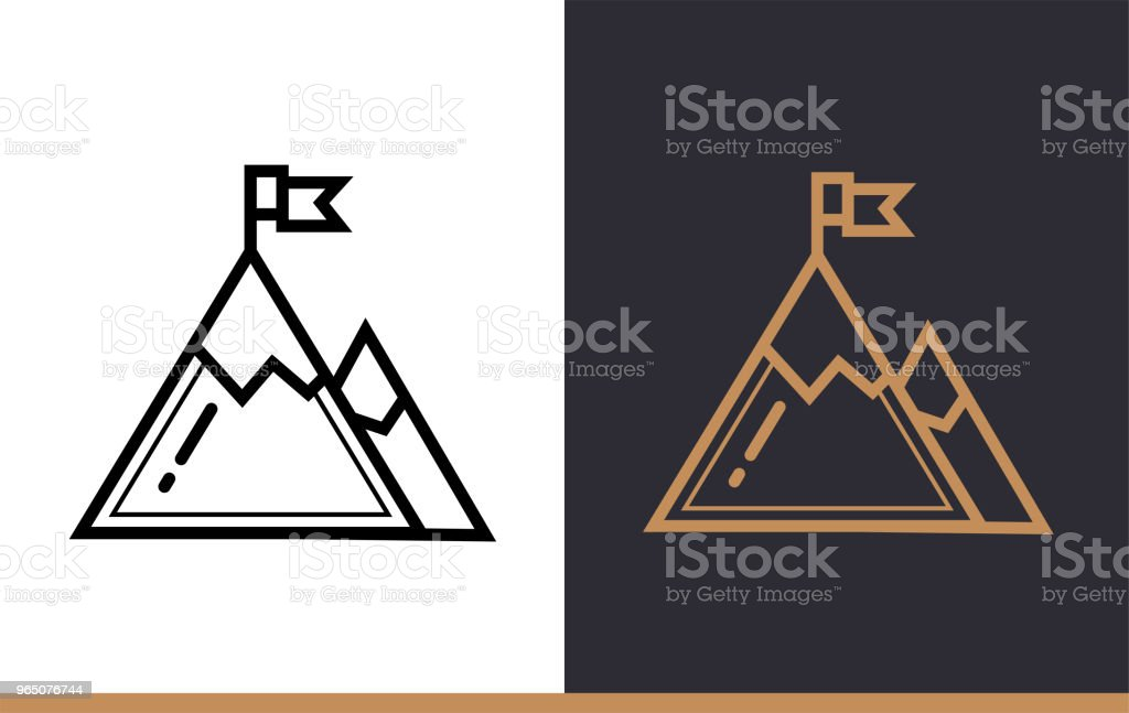 Outline success icon for startup business. Vector line icons suitable for info graphics, print media and interfaces royalty-free outline success icon for startup business vector line icons suitable for info graphics print media and interfaces stock illustration - download image now
