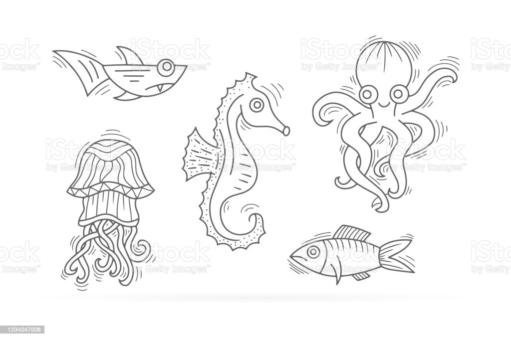 Perfect for Children Ages 3-5, 6-8, 8-12+: Shark Tale Coloring ... | 682x1024