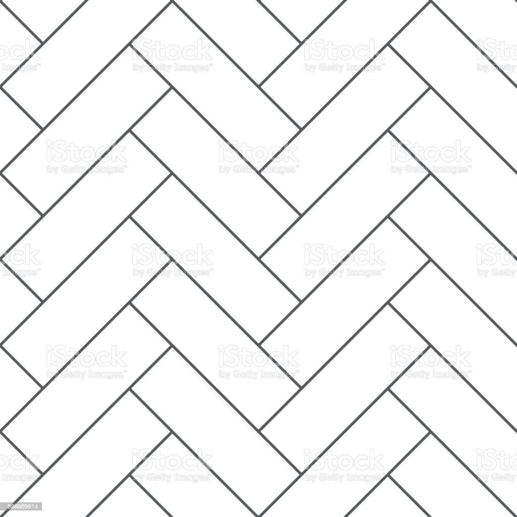Outline vintage wooden floor herringbone parquet vector seamless pattern royalty-free outline vintage wooden floor herringbone parquet vector seamless pattern stock illustration - download image now