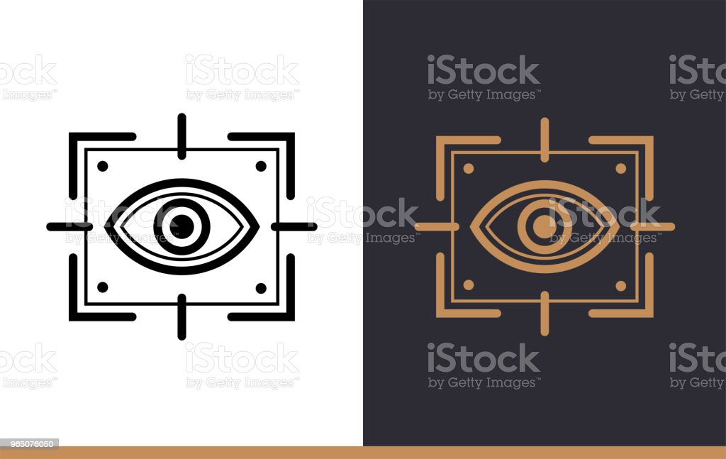 Outline vision icon for startup business. Vector line icons suitable for info graphics, print media and interfaces royalty-free outline vision icon for startup business vector line icons suitable for info graphics print media and interfaces stock vector art & more images of business