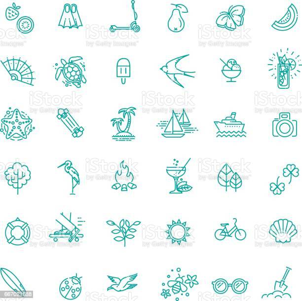 Outline web icon set summer vacation beach vector id667021688?b=1&k=6&m=667021688&s=612x612&h=iawbsrpwj0rarjsh4oqpe9pbk2hunxa6bj3vabi 0bc=