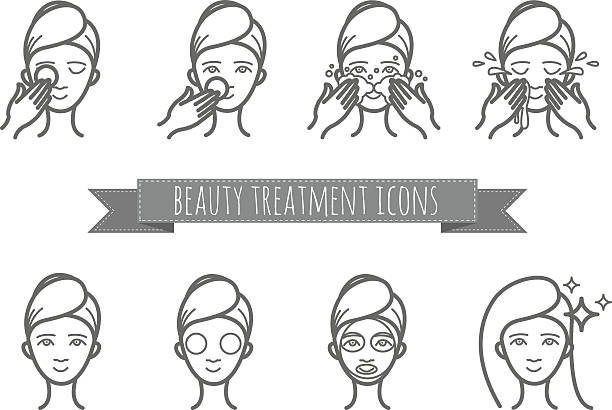 Best Facial Wash Illustrations, Royalty-Free Vector ...