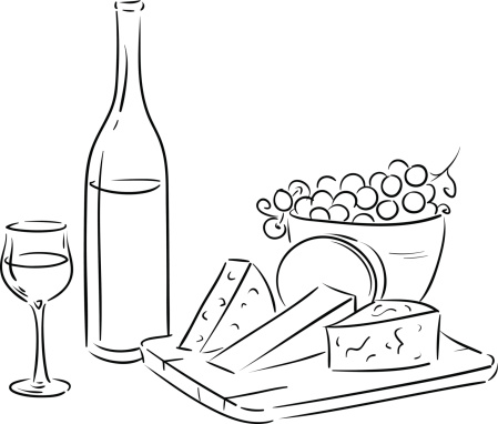outline wine table