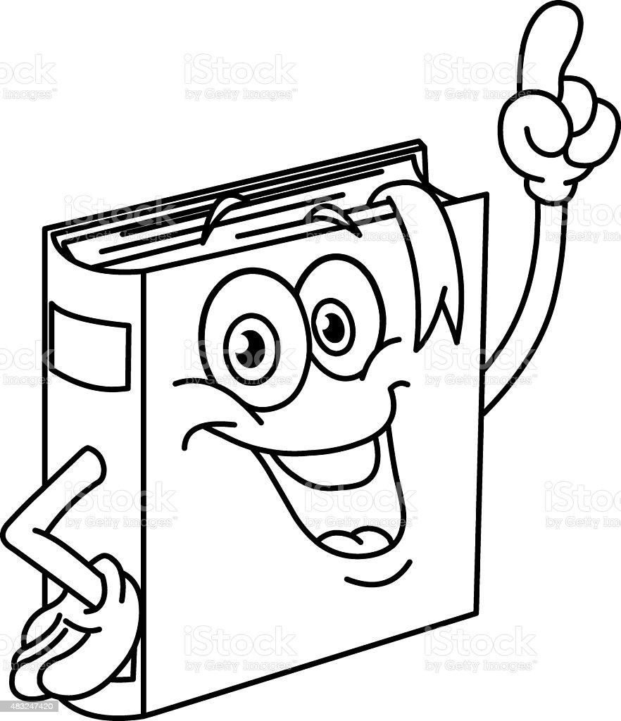 Ilustración De Conjunto De Dibujos Animados De Libro Y Más