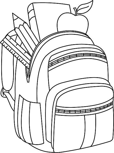 Cartable Ouvert Vectoriels et illustrations libres de droits - iStock