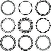 Oval Design Elements - Four
