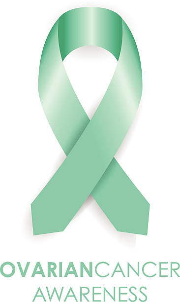 Royalty Free Ovarian Cancer Ribbon Clip Art Vector Images