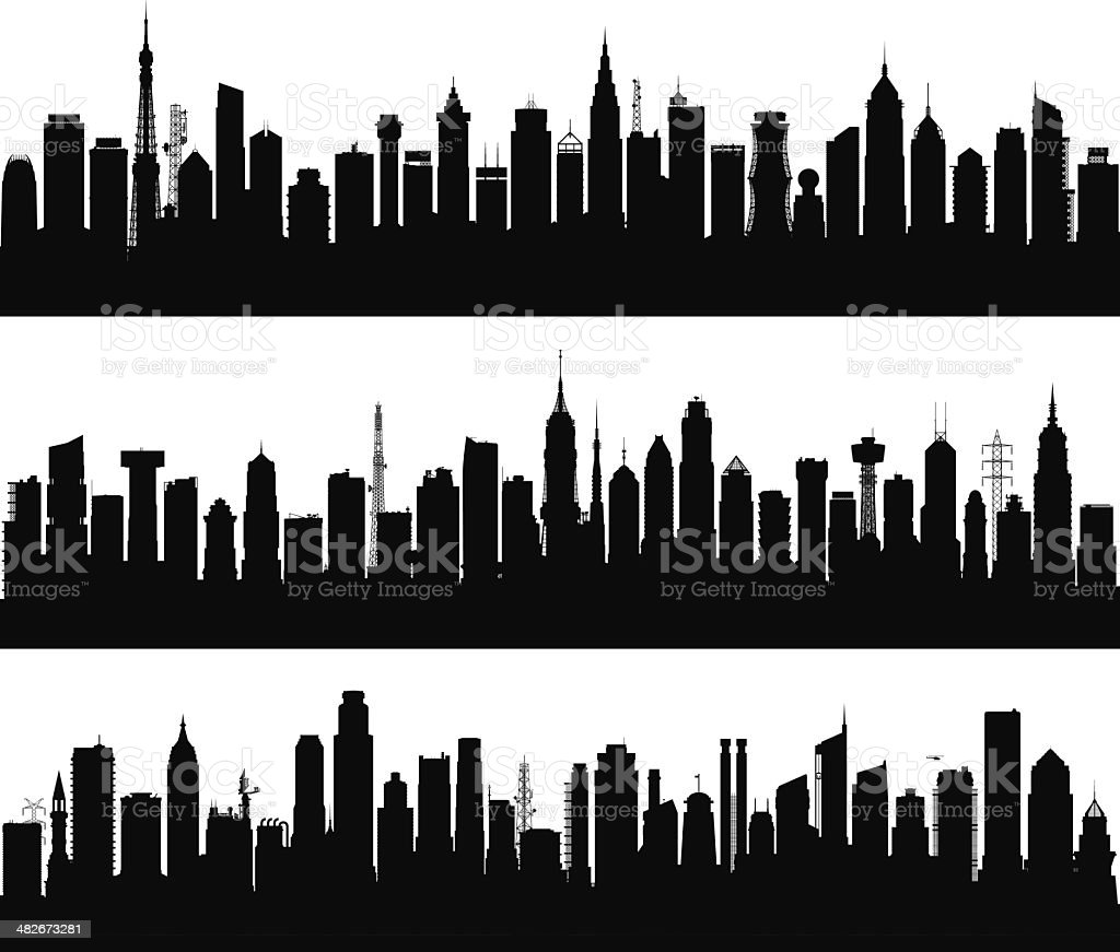 Over 100 Highly Detailed, Complete, Separate Buildings royalty-free over 100 highly detailed complete separate buildings stock vector art & more images of architecture