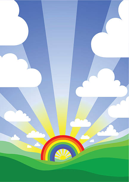 over the rainbow – Vektorgrafik