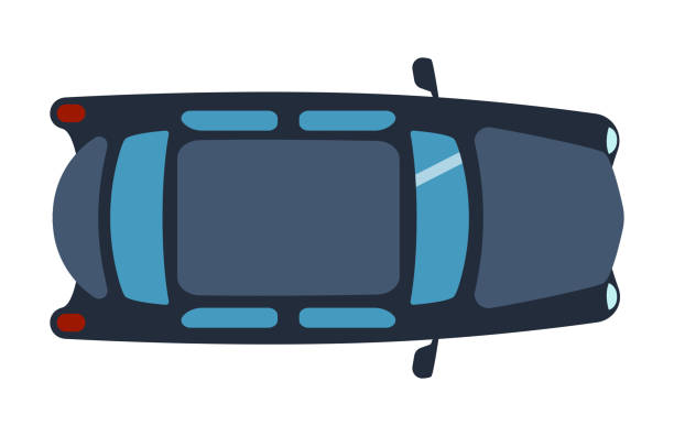 Royalty Free Toy Car Top View Clip Art Vector Images