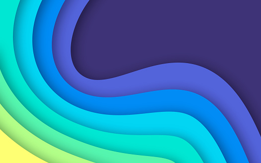 Overlap Layers Abstract Background