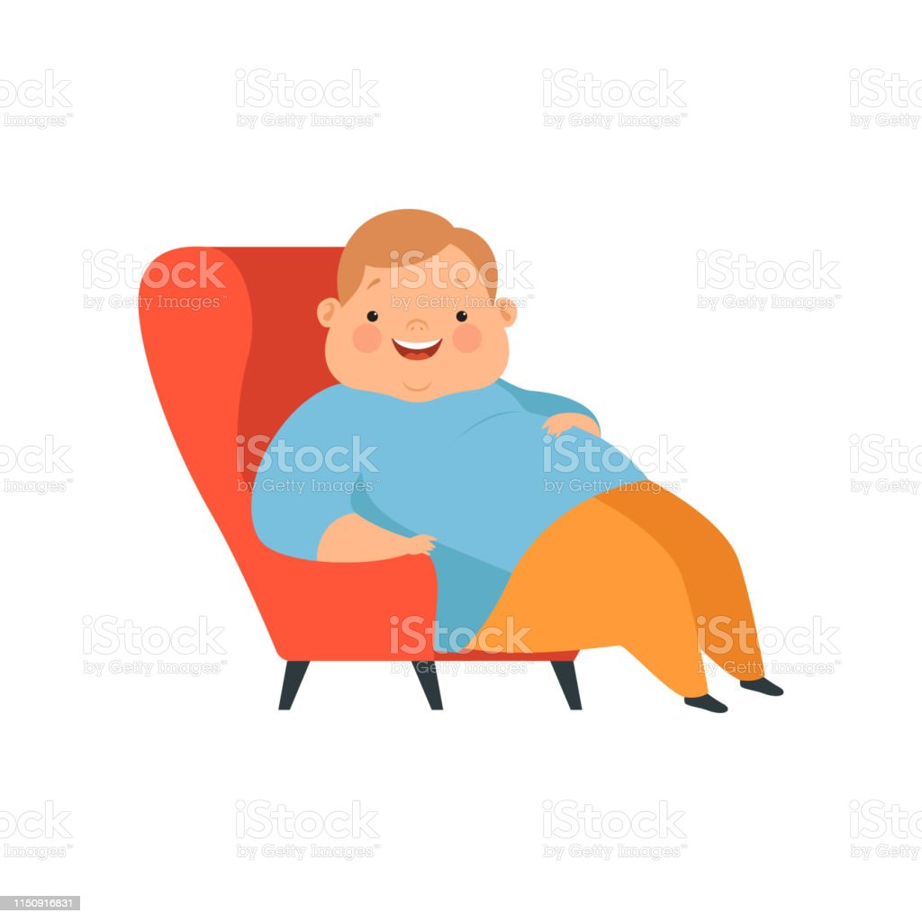 Phenomenal Overweight Boy Sitting In The Chair Cute Chubby Child Gmtry Best Dining Table And Chair Ideas Images Gmtryco