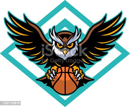 istock Owl basketball 1091740816