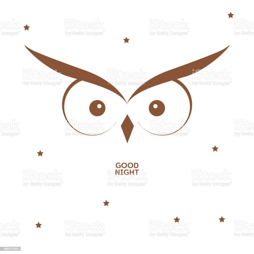 Owl Card Template Royalty Free Stock Vector Art Amp More Images