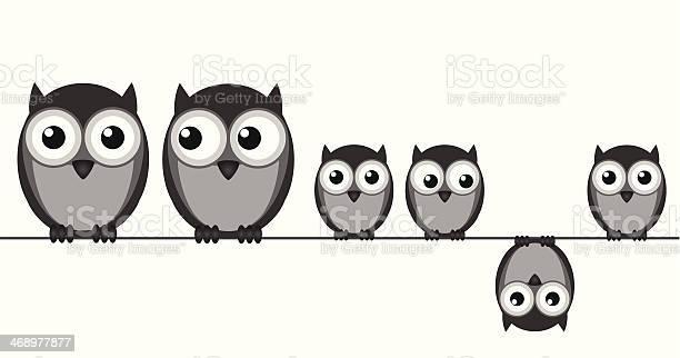 Owl family vector id468977877?b=1&k=6&m=468977877&s=612x612&h=1zmg3z4zottac  lyu5wcbi9ojur3km6agrf p vzby=