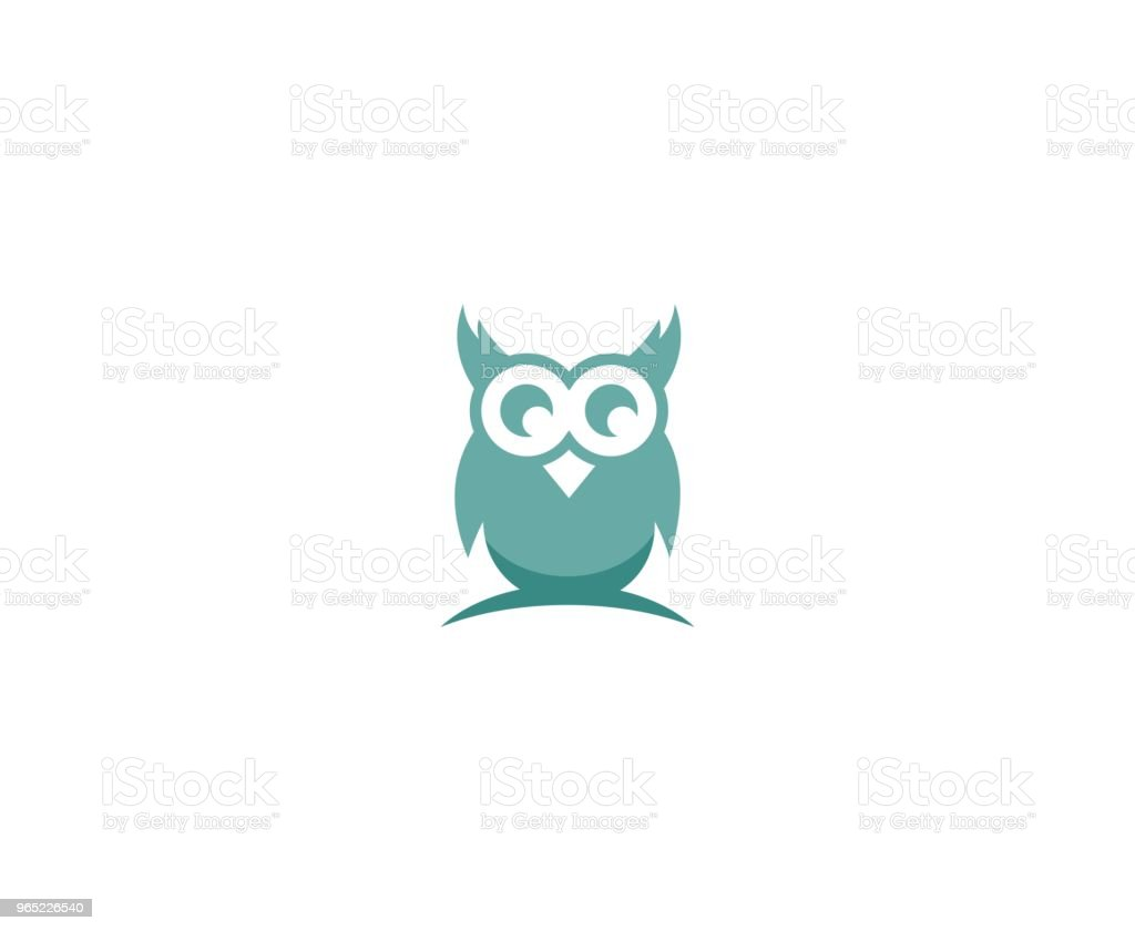 Owl icon royalty-free owl icon stock vector art & more images of abstract