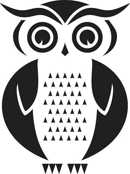 Best Simple Owl Drawings Illustrations, Royalty-Free ... (458 x 612 Pixel)