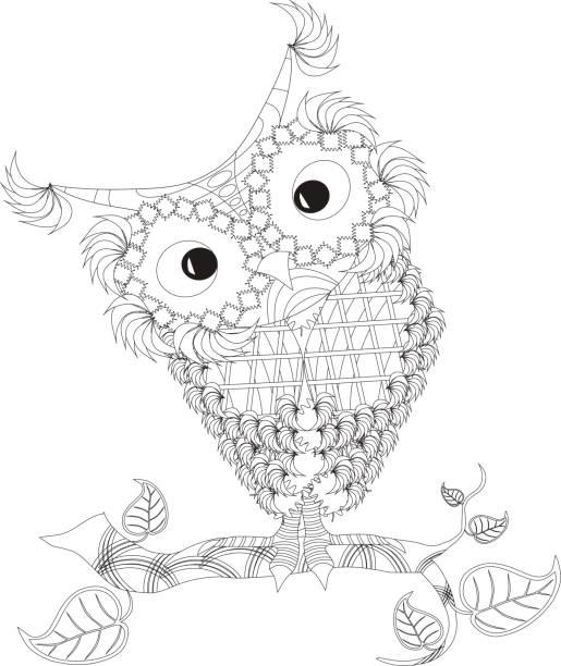 Owl. Illustration vector art illustration
