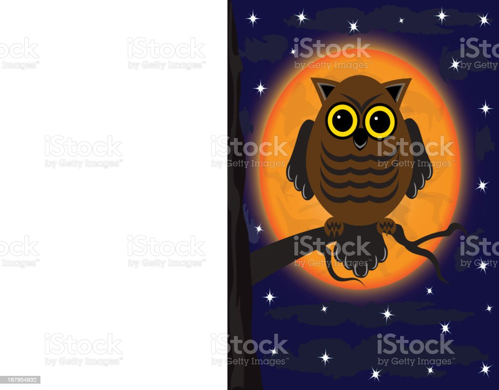 owl on a tree royalty-free owl on a tree stock vector art & more images of animal body part