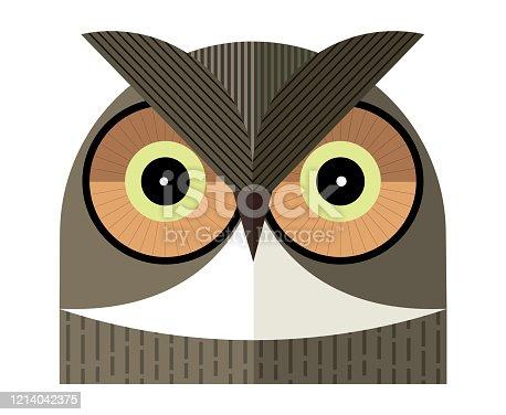 istock Owl portrait 1214042375