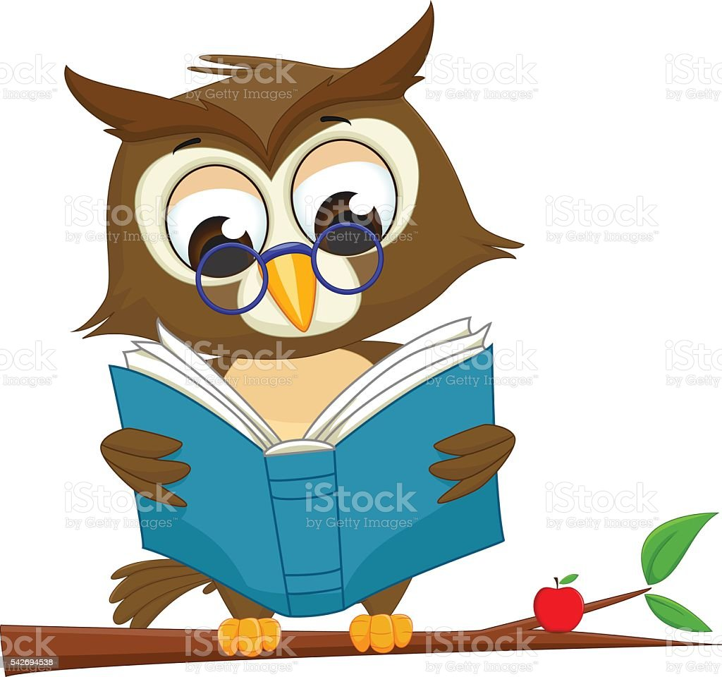 owl clipart reading vector and clip art inspiration u2022 rh artclipart today Owl Clip Art owl reading book clipart