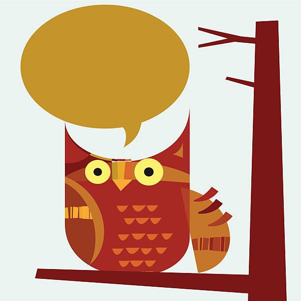 ilustraciones, imágenes clip art, dibujos animados e iconos de stock de búho dice - tintanegra00