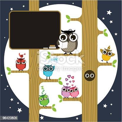 istock Owl school 96420805