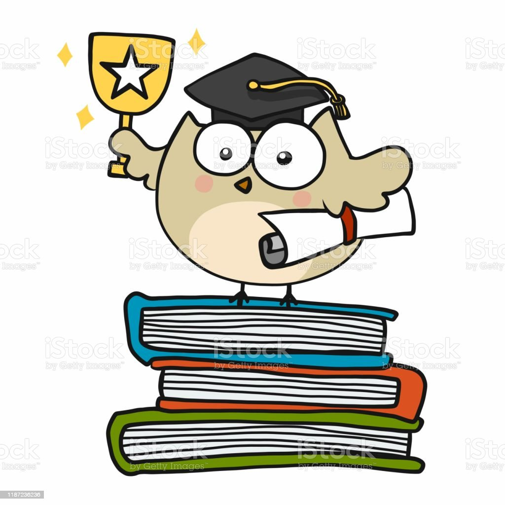 owl student success graduate cartoon vector illustration stock illustration download image now istock owl student success graduate cartoon vector illustration stock illustration download image now istock