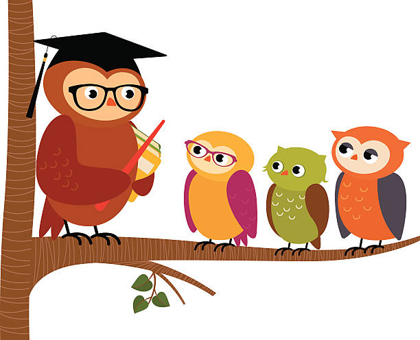Tutor Owl Illustrations, Royalty-Free Vector Graphics ...