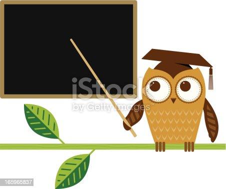 istock Owl teaching 165965837